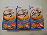 Pepperidge Farm Goldfish Baby Baked Snack Crackers 7.2 Oz (3 Pack)