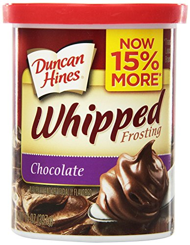 Butter Frosting Cream - Duncan Hines Whipped Frosting, Chocolate, 14 Ounce