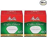 melitta coffee single - Melitta Java Jig, Single Serve Paper Coffee Filters - 2 Pack