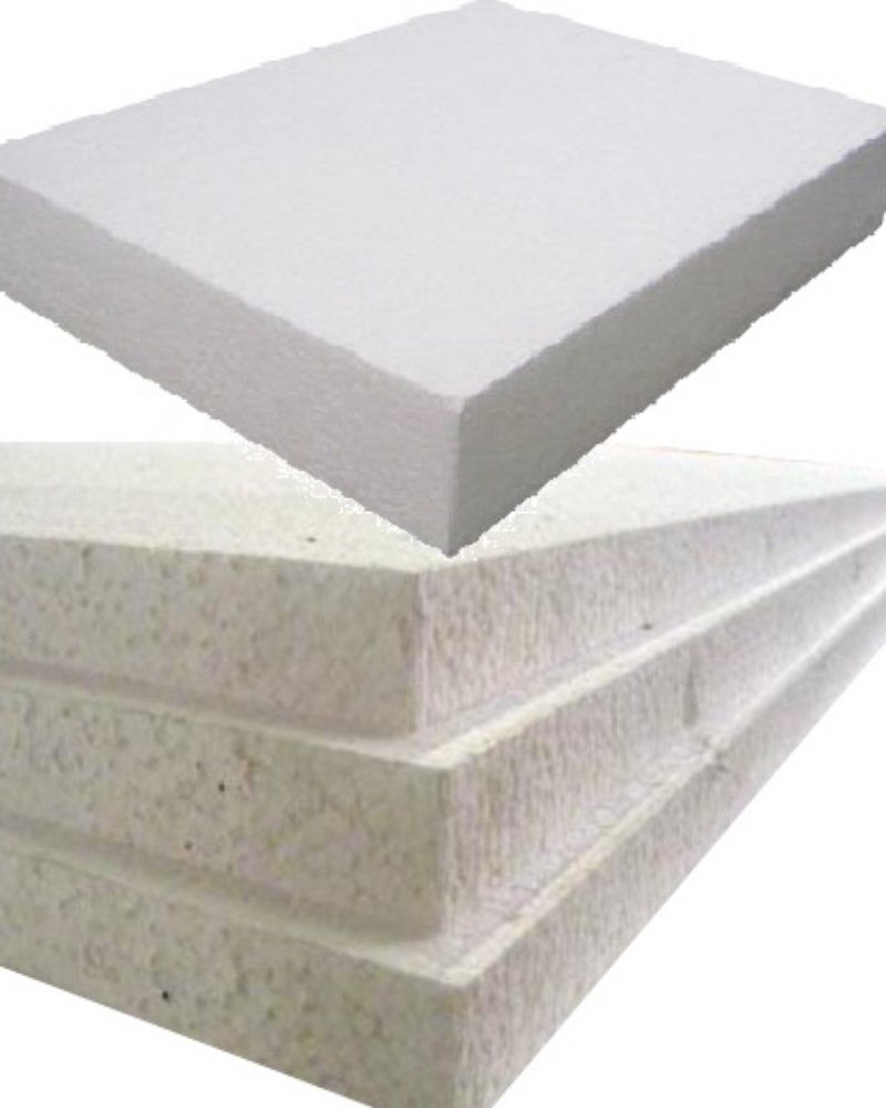 12 Large White Rigid Polystyrene Foam Sheets Boards Slabs - Size 1200mm Long x 600mm Wide x 50mm Thick / 4ft x 2ft - EPS70 SDN Floor Wall Insulation Sheeting Packing Void Loose Fill Filler Protective Packaging