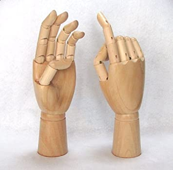 wooden hand model drawing hand model interior ring hand woman right