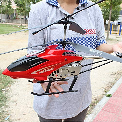 Ycco Hobby RC Plane Remote Control Helicopter 3.5 Channel 68cm Length Hobby RC Radio Plane Drone Plane Remote Control Mini RC Flying Helicopter Children Christmas Large Helicopter ()