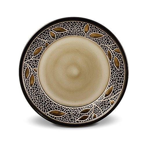 Gourmet Basics Alexandria Round Salad Plate, 8-3/4-Inch