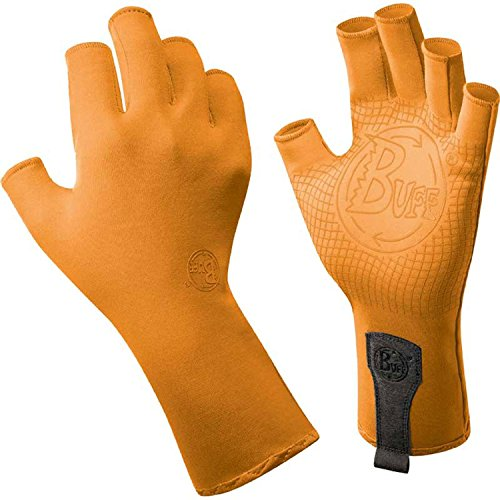 Buff Adult Sport-Series Water Gloves Medium/Large Solar Orange