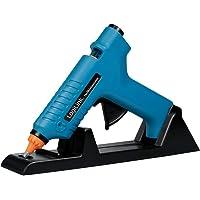 LogiLink WZ0052 - mini-lijmpistool 80W ideaal voor DIY (do it yourself) werken met standaard, kleur: blauw - met 2…