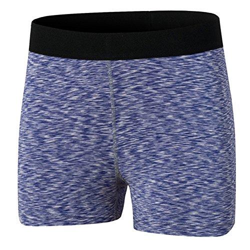 Sport Jogging Running Elastici Corti Yoga Pantaloni Pantaloncini Viola Estivo Donna dFYPnvxv