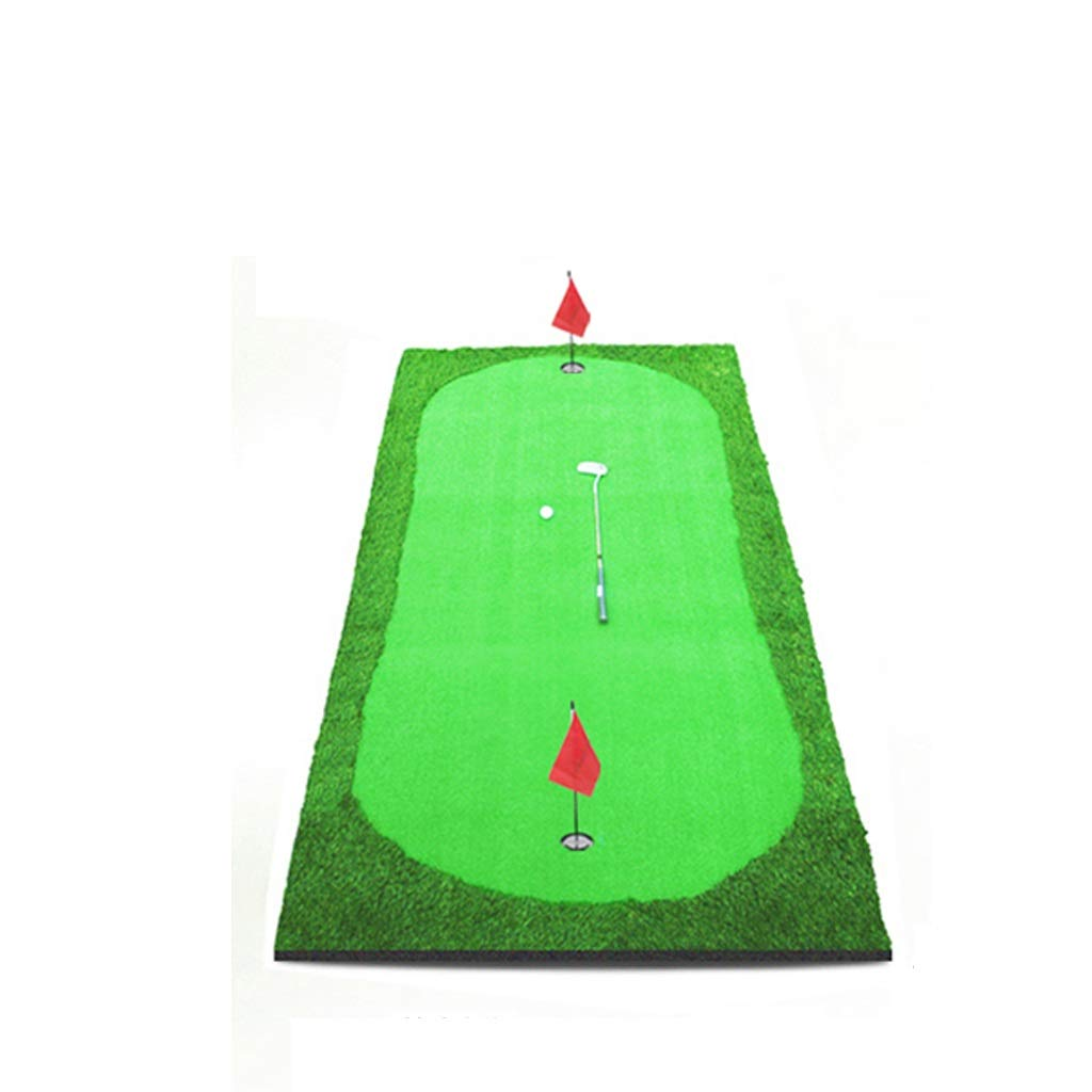 Golf putter pad Driving Range Golf Practice Mat, Premier Quality Professional Fairway Mat -150300cm (Color : Competition Grass)