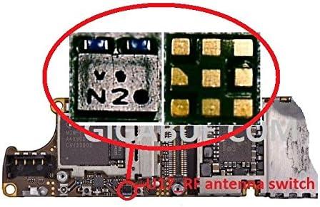 U17_RF Antena Switch con Blue Coil Filter IC Chip para placa ...