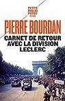 Carnet de retour avec la division Leclerc par Bourdan