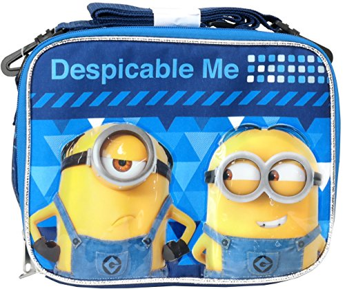 Despicable Me 3 Minions Soft Lunch kit box bag