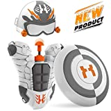 WisToyz Water Gun Squirt Gun Superhero Backpack, Water Blaster Toy Water Guns for Kids, Toddlers, Boys and Girls, Squirt Toys with Large Capacity Long Range, Best Summer Toys Beach Toys Gifts
