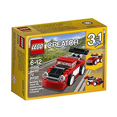 LEGO Creator Red Racer 31055 Building Kit - Creator Building Set