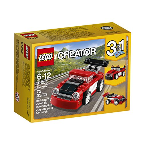 LEGO Creator Red Racer 31055 Building Kit](Red Car Lego)