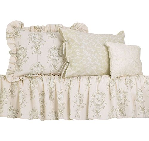 Cotton Tale Designs Full Bedding Set, Lollipops and Roses