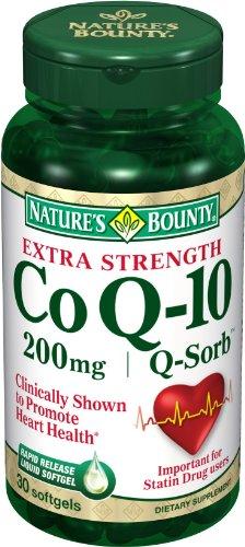 La générosité de la nature Q-Sorb Co Q-10, 200 mg, 30 gélules