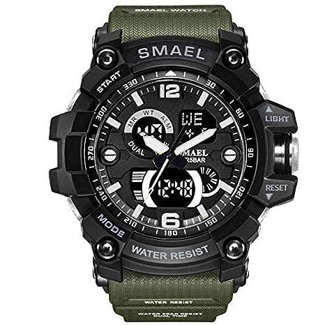 VEHOME Reloj Inteligentes Deportivo SMAEL - Reloj Digital - Reloj electrónico para Caballero LED- relojero Reloj reloje - Marcas Deportivos: Amazon.es: ...