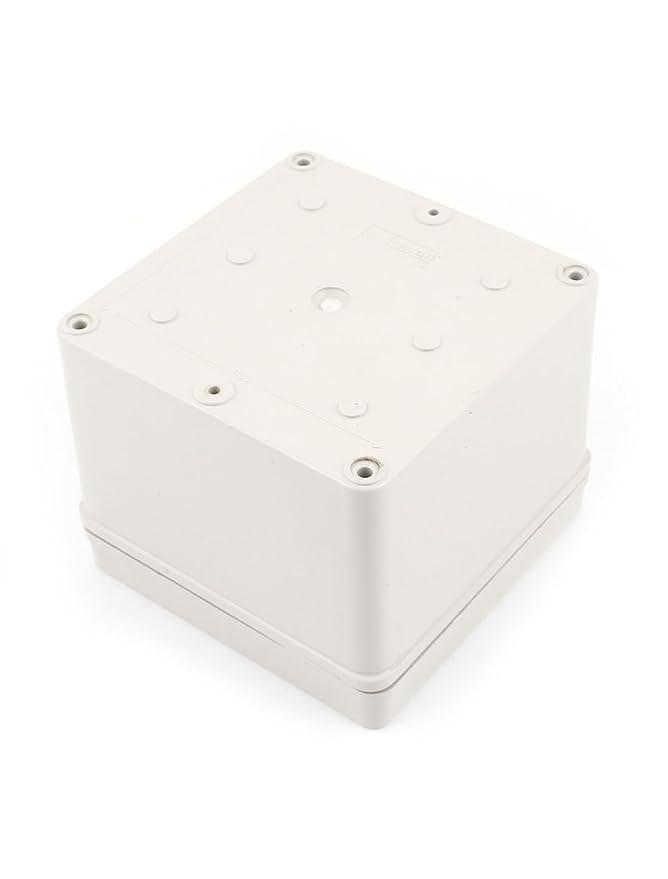 Uxcell 125mm X 125mm X 100mm Plastic Dustproof Ip65 Sealed