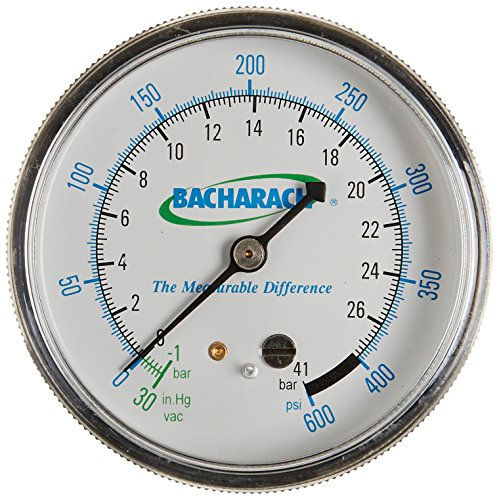 (Bacharach 2063-0150 Low Pressure Gauge for Stinger High Performance Oilless Commercial Refrigerant Recovery Unit )