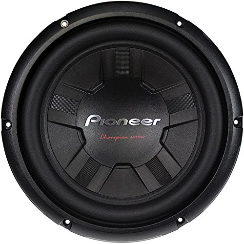 Pioneer TSW261D4 10-Inch Champion/DUAL4 OHM/1200W/40 Equalizer by Pioneer (Image #1)