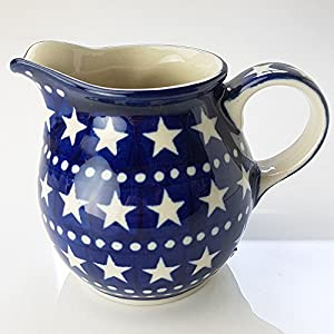 Polish Pottery Creamer Milk Jug – Midnight Star