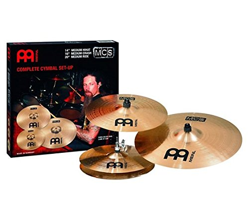 Meinl MCS Cymbal Pack with Free Filter China