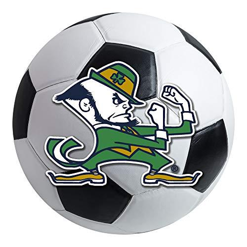 Irish Notre Dame Soccer Ball - FANMATS NCAA Notre Dame Fighting Irish Nylon Face Soccer Ball Rug