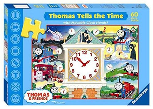 Ravensburger Thomas The Tank Puzzle - Ravensburger Thomas The Tank Engine Thomas Tells the Time - Clock Puzzle