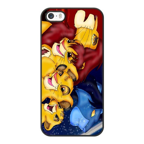 Coque,Coque iphone 5 5S SE Case Coque, The Lion King 3 Cover For Coque iphone 5 5S SE Cell Phone Case Cover Noir