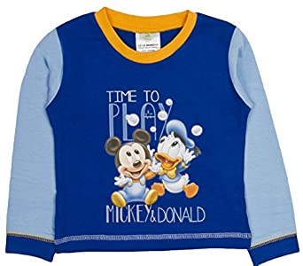 22223887116 Baby Boys Pyjamas Kids Toddlers Disney Mickey Mouse Pjs Set Size UK 6-24  Months