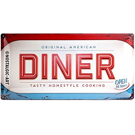 Arthouse American Diner Wallpaper 889600 Cafe Menu Neon Signs Route 66