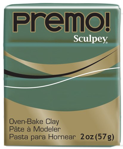 Sculpey Premo Art Clay, Jungle (PE02 5535)
