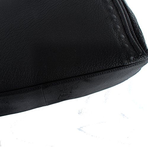 Lederbags - Bolso bandolera  Mujer Hombre unisex negro negro