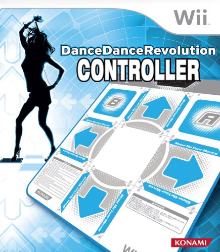 Wii Dance Dance Revolution Dance Pad Controller (Wii Fit Board Games)