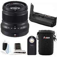 Fujifilm XF 50mm f2 WR Lens with VPB-XT2Vertical Power Booster Grip Kit