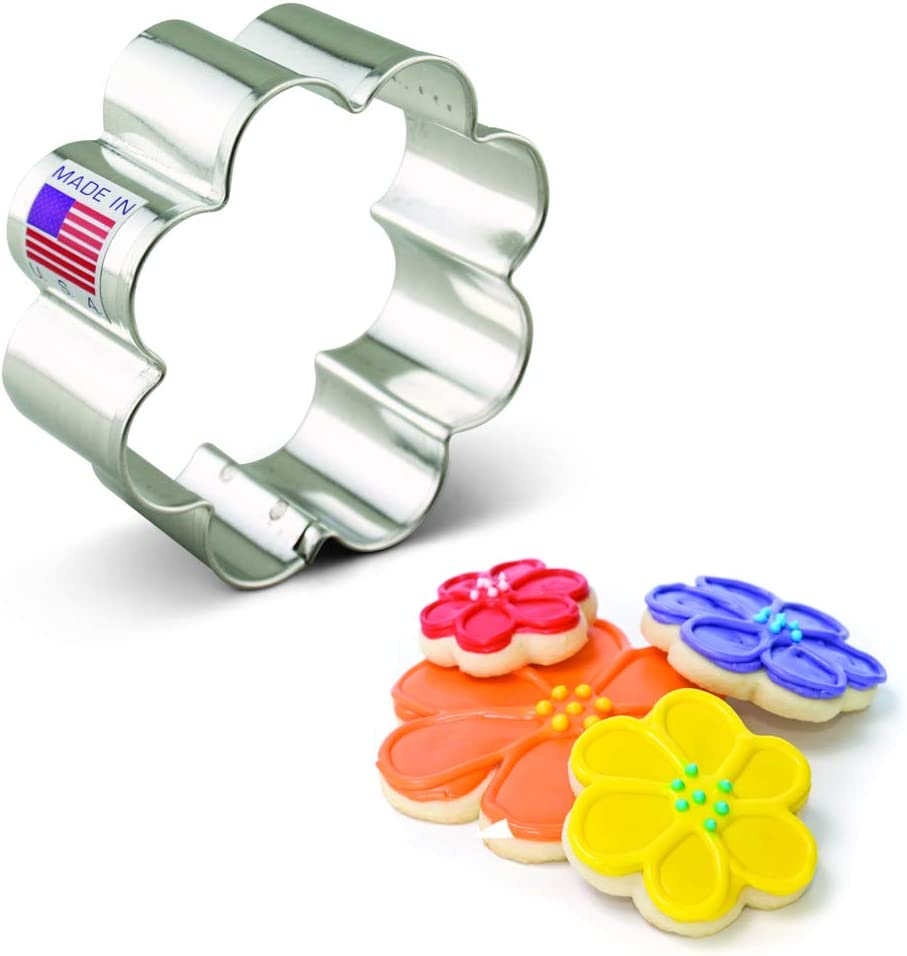 """Ann Clark Cookie Cutters Small Flower Cookie Cutter, 2.5"""""""