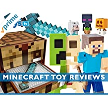 Review: Minecraft Toy Reviews