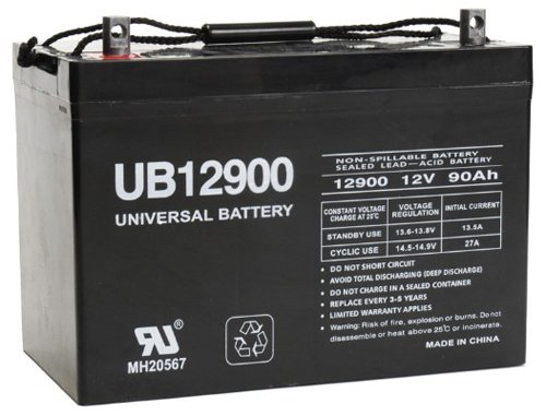 Universal Power Group 45826 Sealed Lead Acid Battery by Universal Power Group