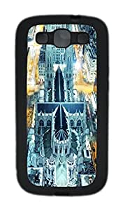 Samsung Galaxy S3 I9300 Cases & Covers -Architecture 135 Custom TPU Soft Case Cover Protector forSamsung Galaxy S3 I9300¨CBlack