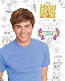 1art1 Poster + Hanger: High School Musical Mini Poster (20x16 inches) 2, Zac Efron Troy I and 1 Set of Black Poster Hangers