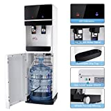 KCHEX>>>5 Gallon Bottom Loading Water Cooler Dispenser Hot Cold Water Child Safety Lock>Our new brand Water Dispenser will let you relax with a cool drink on a hot day and warms you up with a hot cup