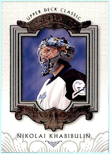 Portrait Lightning Tampa Bay - 2003-04 Upper Deck Classic Portraits #89 Nikolai Khabibulin TAMPA BAY LIGHTNING