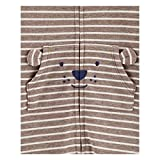 Carter's Baby Boy Striped Hooded French Terry