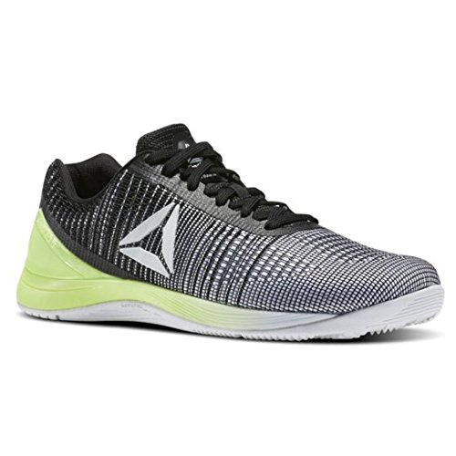 Reebok Men's CROSSFIT Nano 7 Cross Trainer, Off-White/Electric Flash, 10.5 M US
