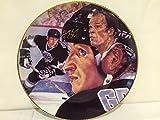 Gordie Howe and Wayne Gretzky Autographed Gartland Plate