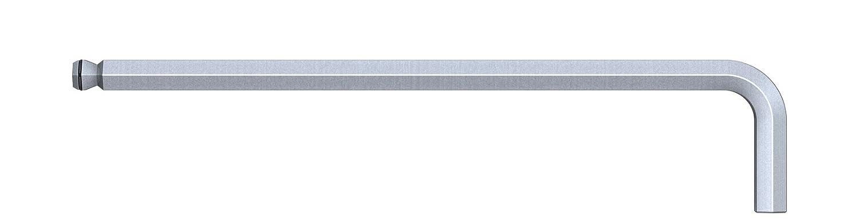 Klemmringfunktion MagicRing/® f/ür das Halten von Schrauben ohne Magnet mattverchromt 8 x 206 mm Wiha Stiftschl/üssel Sechskant-Kugelkopf schwenkbar f/ür schwer zug/ängliche Bereiche 44 mm 20552