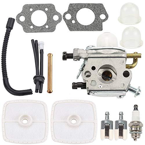 Kuupo PB200 Carburetor Air Filter Tune Up Kit for Echo ES210 ES211 PB201 PS200 ES-210 ES-211 PB-200 PB-201 PS-200 Blowers A021000942 Zama C1U-K78 ()