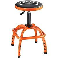 Bahco BHBLE305 Verkstad Pneumatisk Stol, Svart/Orange