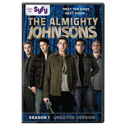 DVD : The Almighty Johnsons: Season 1 (3 Pack, 3 Disc)