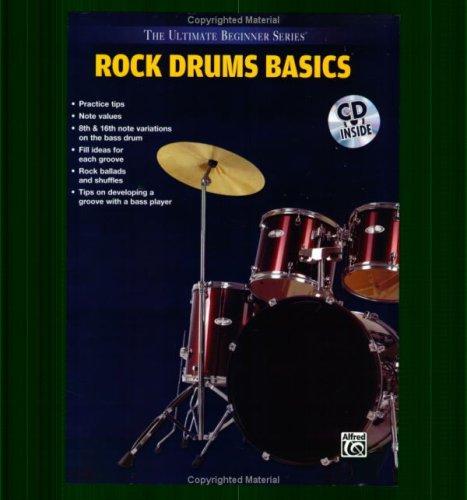 Ultimate Beginner Rock Drum Basics Mega Pak (Book, CD & DVD) (The Ultimate Beginner Series) (Ultimate Beginner Series Rock)