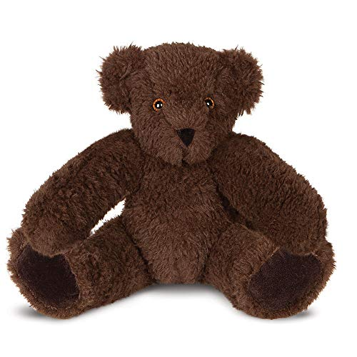 Vermont Teddy Bear Soft Cuddly Bear Stuffed Animals and Teddy, Dark Brown, 15 Inches (Amazon Exclusive)